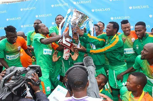 Zesco United won the barclays cup 2016