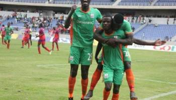 Jesse Were put ahead Zesco United during the encounter with Kitwe United