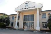 Football house office of the Football Association of Zambia