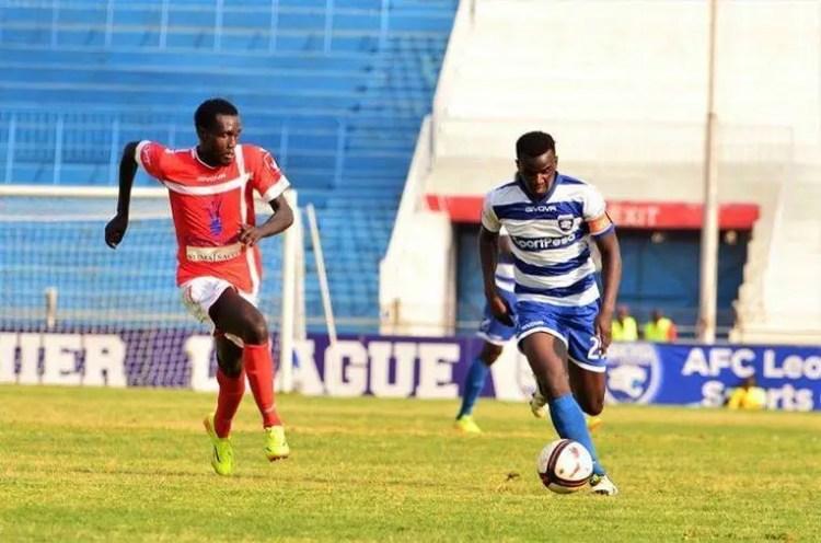 Otieno in the Zambia super league