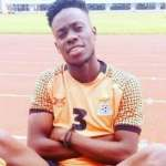 Zambian football player Albert Kangwanda