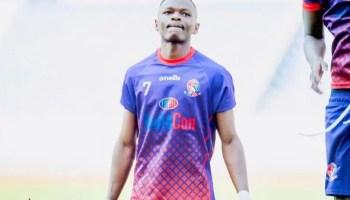 Zambian footballer Emmanuel Lyonze Mwiinde