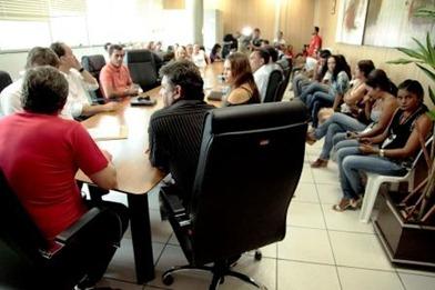 HELDER MESSIAHS 066.JPG. A reunião aconteceu no gabinete do prefeito