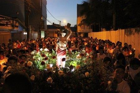 Comemoração ao dia de São Sebartião no Pará