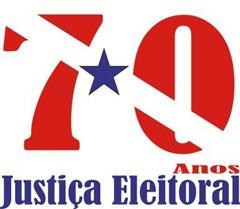 logo 70 anos da justiça eleitoral