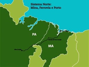 Sistema Norte - Mina / Ferrovia / Porto