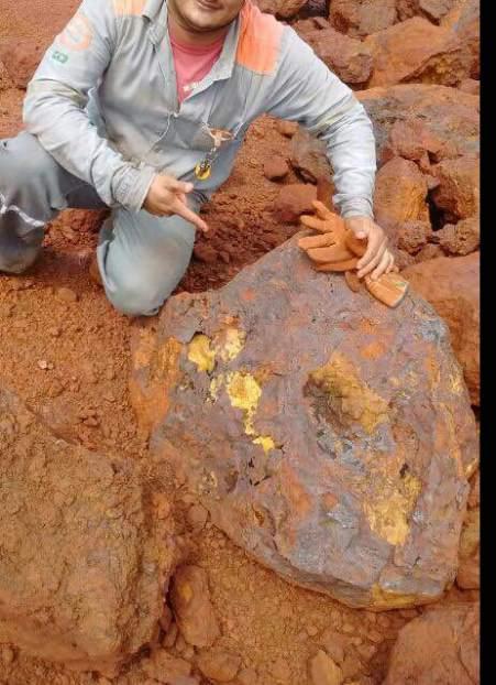 Pedra de ouro no S11D