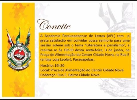 Convite APL