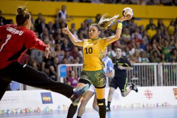 Seleção brasileira de handebol feminino chega nesta quinta-feira em Belém