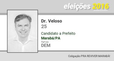Dr. Veloso, segundo colocado na eleição para prefeito de Marabá, rebate alfinetada de Toni Cunha