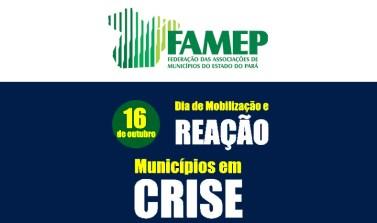 Prefeitos paraenses realizam mobilização contra a crise dos municípios