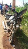 Acidente PA-275 Estado em que ficou a moto
