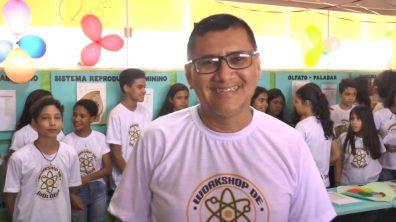 Eduardo Dias, diretor da Escola Carlos Magno
