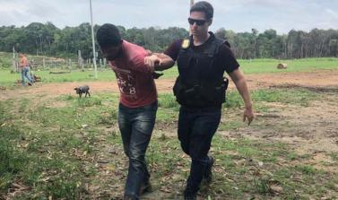 Polícia Civil prende estuprador de criança de 7 anos de idade em Breu Branco