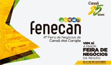 Canaã dos Carajás espera 100 mil pessoas para a 4ª FENECAN esta semana