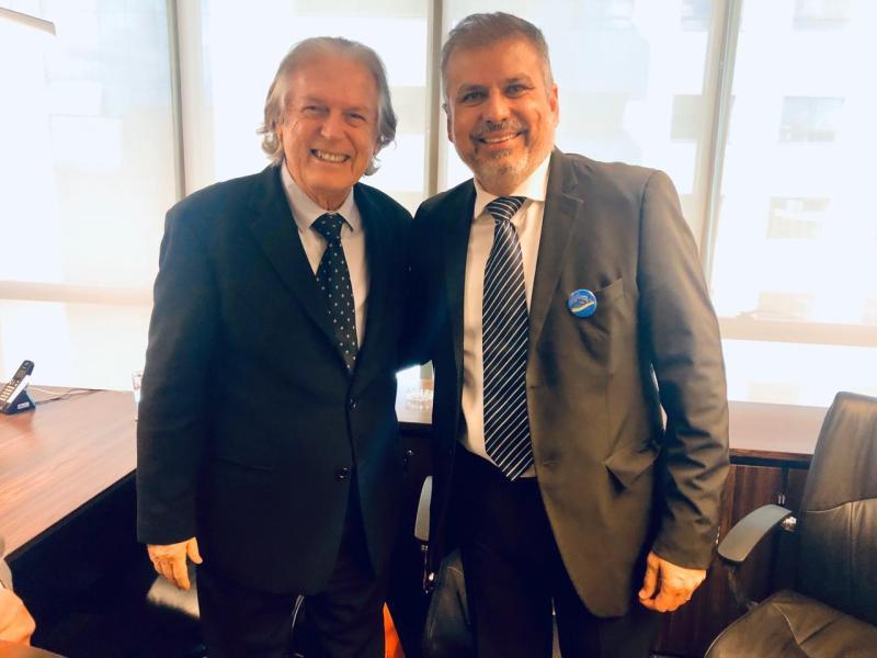 Dr. Veloso terá incondicional apoio de Luciano Bivar como pré-candidato à Prefeitura de Marabá