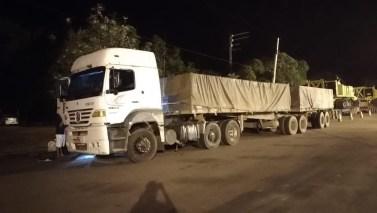 Carreta com mais de 40 toneladas de minério é apreendida em Conceição do Araguaia