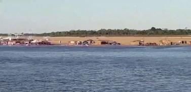 Santana do Araguaia: Homem mergulha e desaparece no Rio Araguaia