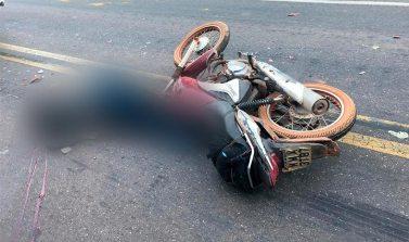 Acidente envolvendo motocicleta faz uma vítima fatal na PA 447 em Conceição do Araguaia