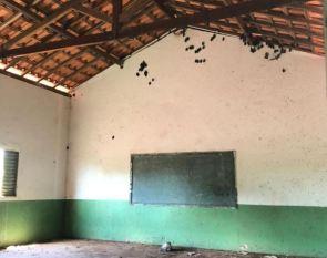 Floresta do Araguaia: Justiça determina interdição de escolas com falhas estruturais e cheias de morcego