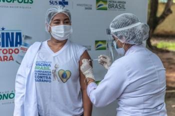 Curionópolis inicia segunda etapa da vacinação contra covid-19 nesta quinta
