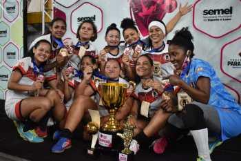 Spartan no feminino e Guanabara no masculino conquistam o Copão de Futsal em Parauapebas