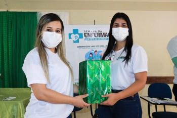 Complexo Hospitalar de Tucuruí destaca o protagonismo dos enfermeiros e técnicos na Semana da Enfermagem