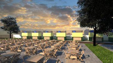 Prefeitura de Canaã inicia obra da nova Praça de Alimentação