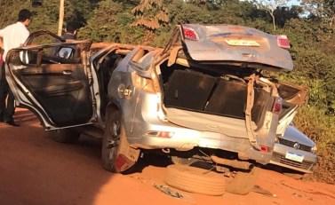 Xinguara: Mulher morre e duas crianças ficam feridas em grave acidente na Vicinal da Rio Vermelho