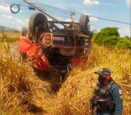 Xinguara: Motorista morre em grave acidente na BR-155; o veículo tombou após bater em um poste