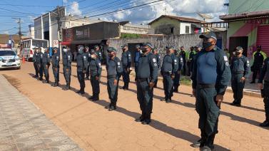 18ª Companhia Independente da PM comemora 15 anos de existência em Jacundá
