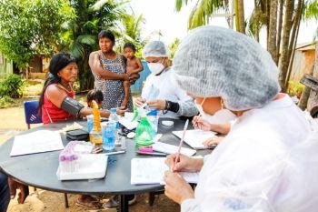 """Ourilândia do Norte: """"Saúde por todo o Pará"""" chega à aldeia Turedjãm"""