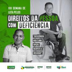 Parauapebas: Município realiza a 13ª Semana de Luta pelos Direitos da Pessoa com Deficiência