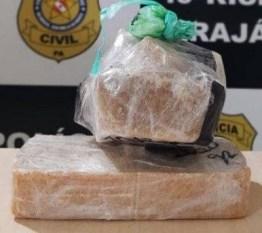 Marabá: Mulher é presa em ônibus transportando crack e cocaína