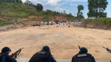 Xinguara: PM promove capacitação para uso do fuzil 7,62 a policiais do 17º BPM