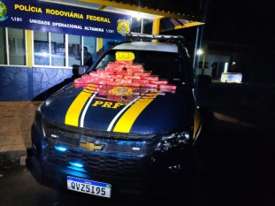 Altamira: PRF apreende 24 quilos de cocaína e prende traficante na BR-230