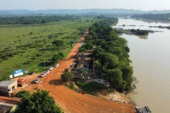 São Félix do Xingu: Helder assina ordem de serviço para a construção da ponte sobre o Rio Fresco