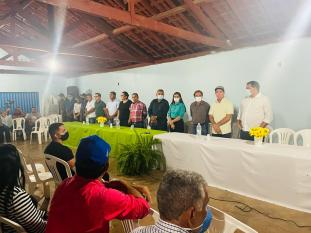 Josemira anuncia construção da Transjussara que ligará Canaã à Água Azul do Norte