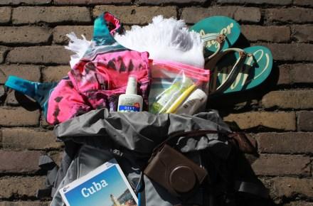 Inpaklijst backpacken 3 weken Cuba