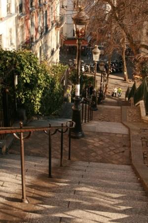 trappen in parijs
