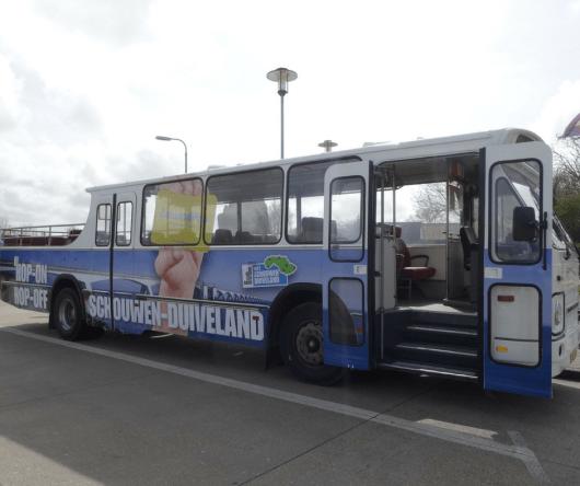 Hop-on Hop-off bus Schouwen-Duiveland