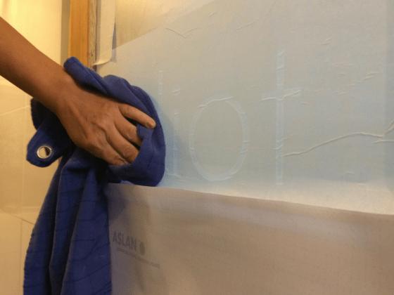Raamfolie plakken zonder bubbels