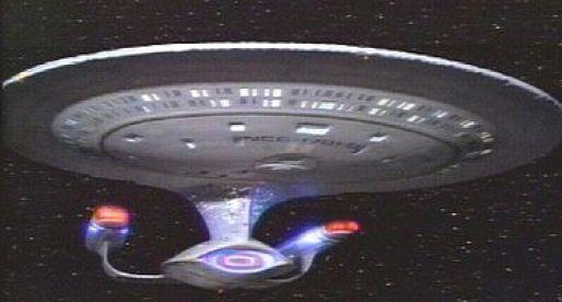 """סידרת טלוויזיה מצליחה בלי ערבים. החללית """"אנטרפרייז""""."""
