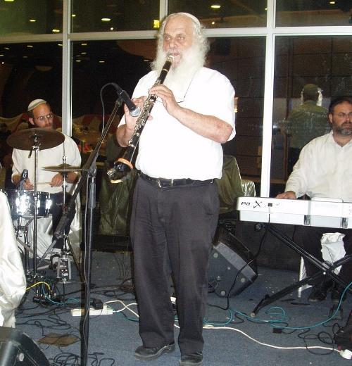 להקת כליזמר ישראלית של מוסא ברלןי (צילום: זאב גלילי)