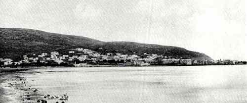 חיפה כולה היתה בשטח 440 מטרים על 190 מטר בשנת 1877