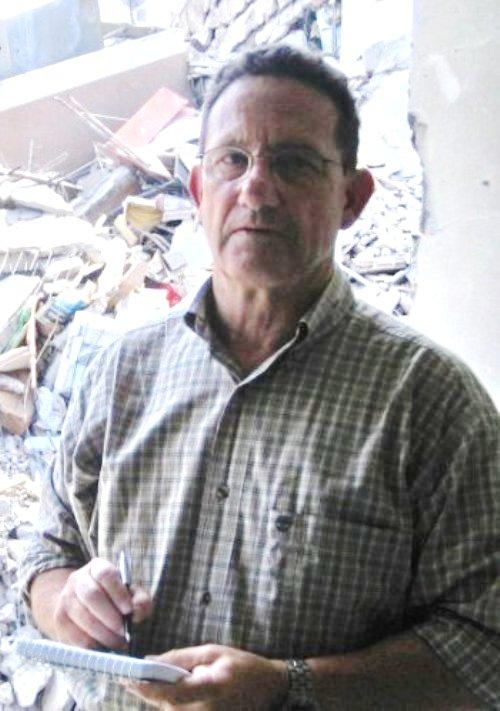 רוןבן ישי בעתבירקורו בדאחיה אחרי מלחמת לבנון השניה (באדיבות רוןבן ישי)
