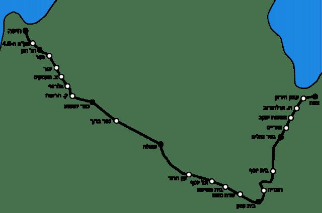מסלול רכבת העמק ויקישיתוף יוצר דובב