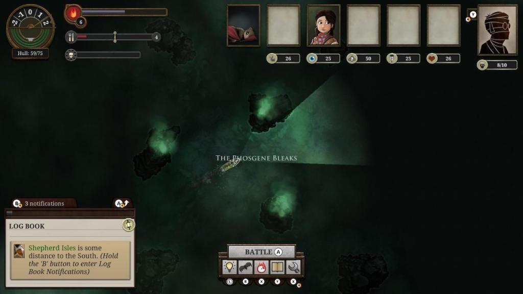 Обзор: Sunless Sea: Zubmariner Edition - Как не стать кормом 5