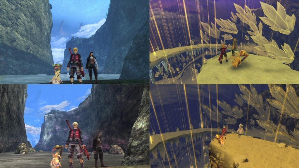 Тонна сравнительных скриншотов Xenoblade Chronicles: Definitive Edition 17