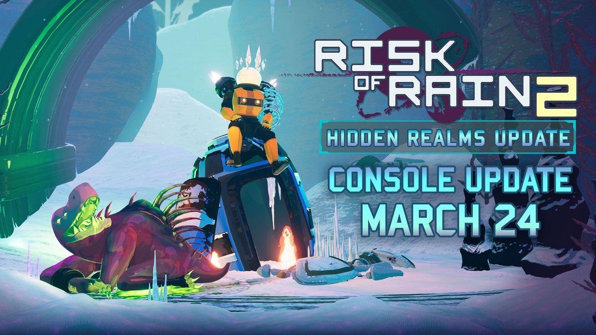 Релизный трейлер Hidden Realms, свежего обновления для Risk of Rain 2 9